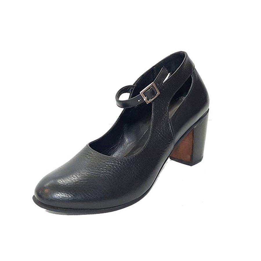 کفش زنانه  چرم طبیعی دست دوز تبریز کد 223