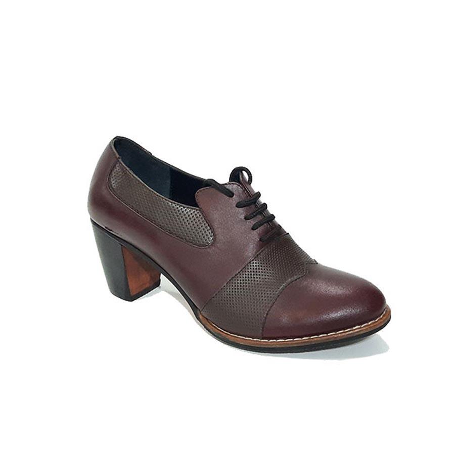 کفش زنانه چرم طبیعی دست دوز تبریز کد 655