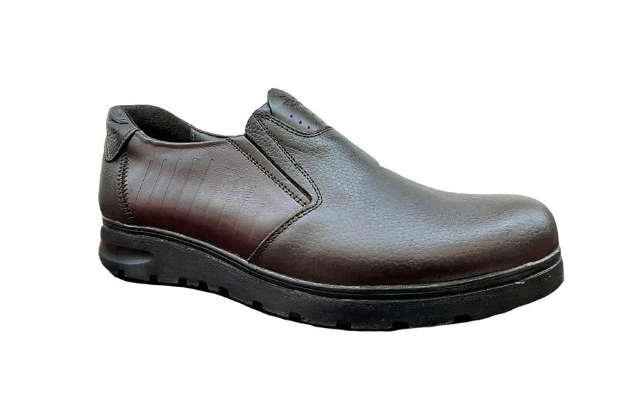 کفش راحتی مردانه چرم  طبیعی تبریز کد 200