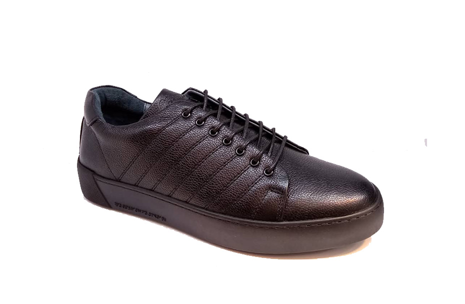 کفش کتونی مردانه تمام چرم طبیعی  تبریز کد 316