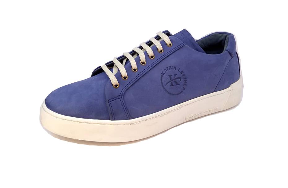 کفش کتونی مردانه تمام چرم طبیعی هورس  تبریز کد 318