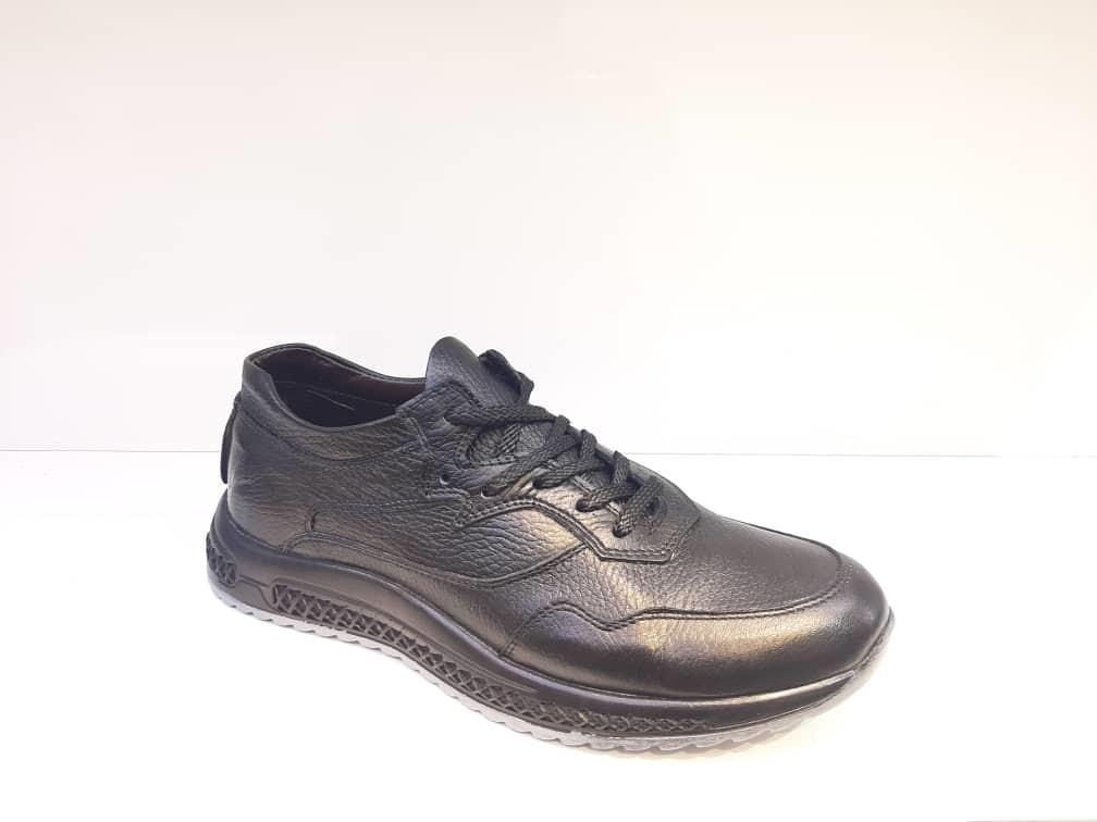 کفش کتونی مردانه چرم طبیعی  تبریز کد 368