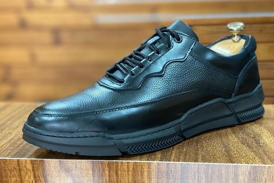 كفش چرم طبیعی  مردانه اسپرت کلاسیک