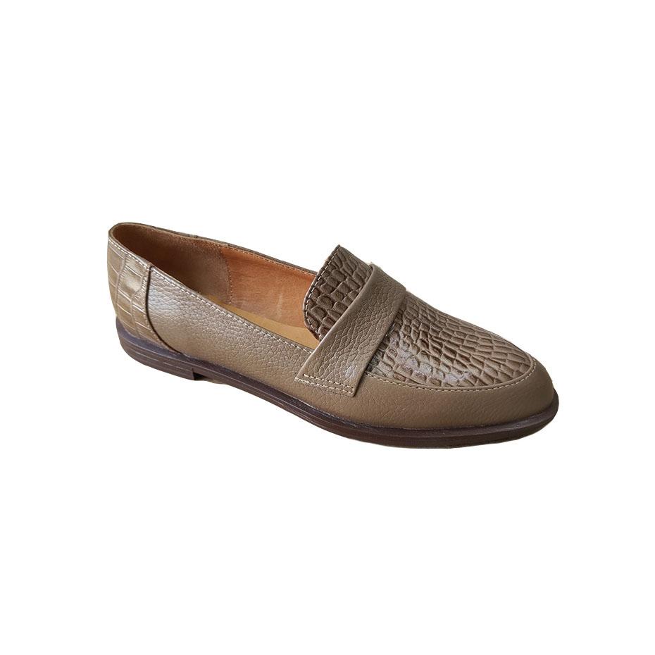 کفش مجلسی زنانه  چرم طبیعی دست دوز تبریز کد 303