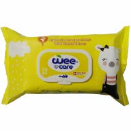 دستمال مرطوب زرد کودک وی