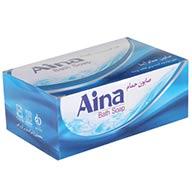 صابون حمام Aina یک جعبه