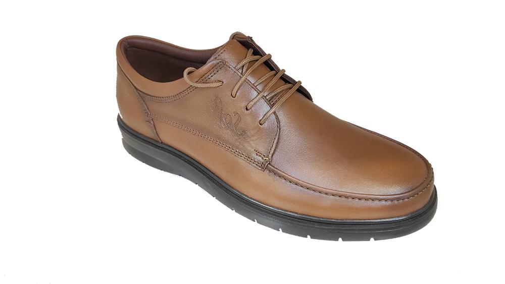 کفش مجلسی مردانه چرم طبیعی گاوی تبریز کد 281