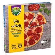 پیتزا نیمه آماده پپرونی پمینا