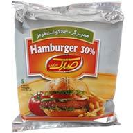 همبرگر معمولی ۳۰٪  صدگ