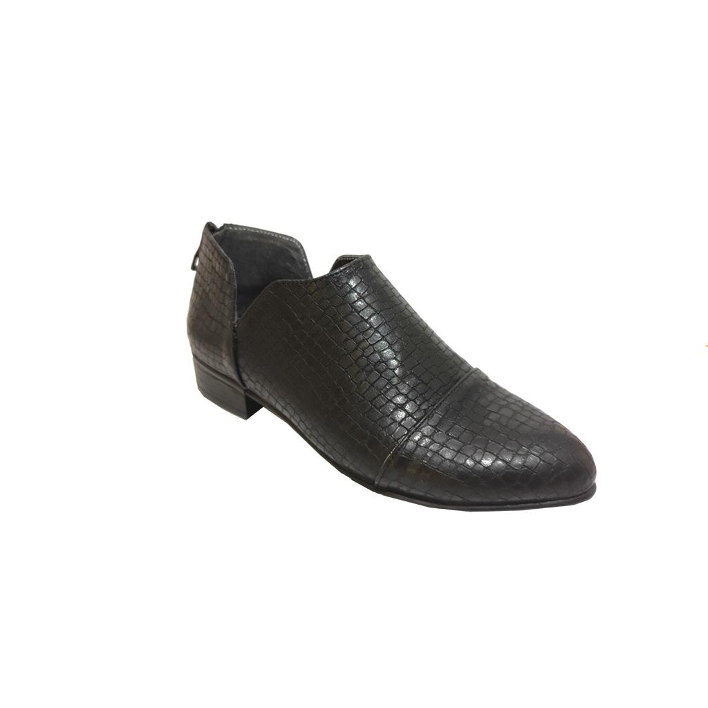 کفش زنانه مجلسی پاشنه دار مدل پشت زیپ  کد 183