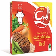 عصاره گوشت گوساله  ۸ عددی الیت