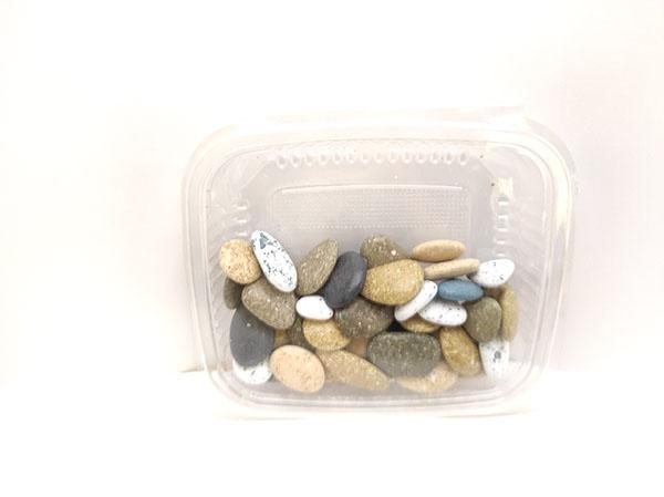 شکلات سنگی رودخانه ای  کد54