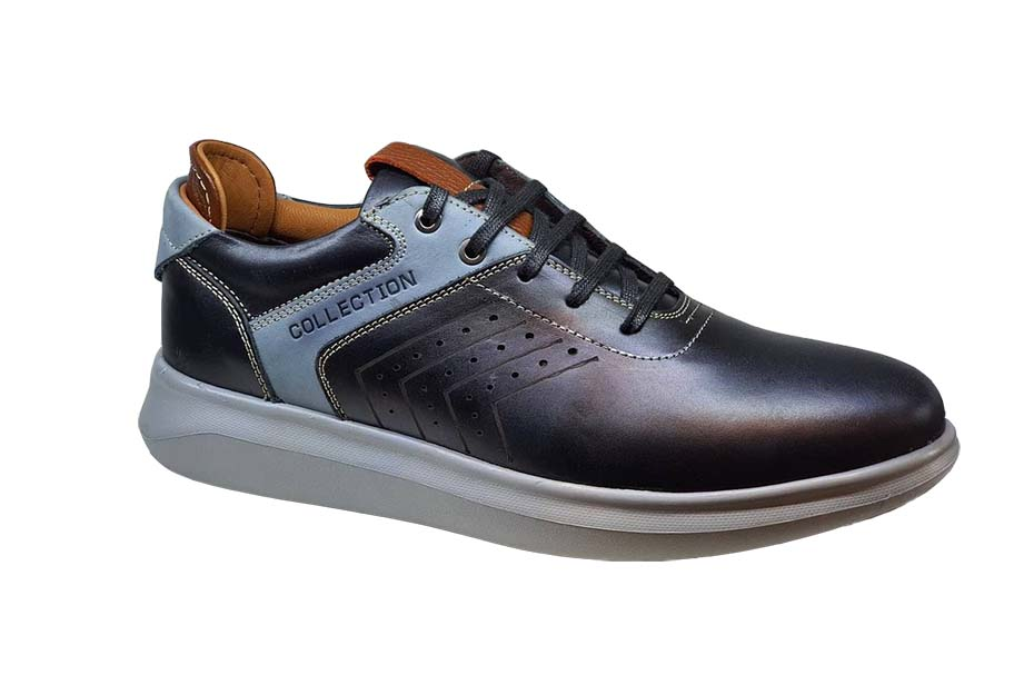 کفش اسپرت مردانه چرم طبیعی کد 027