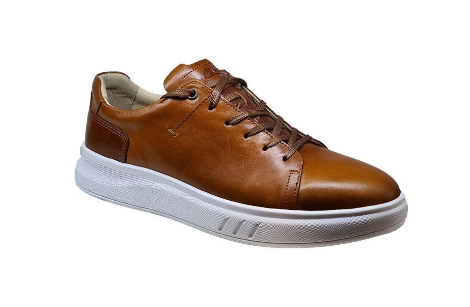کفش اسپرت مردانه مدل ونس چرم طبیعی  کد 120