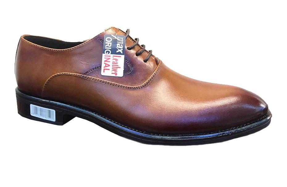 کفش چرم  طبیعی مجلسی مردانه دستدوز  تبریز کد125