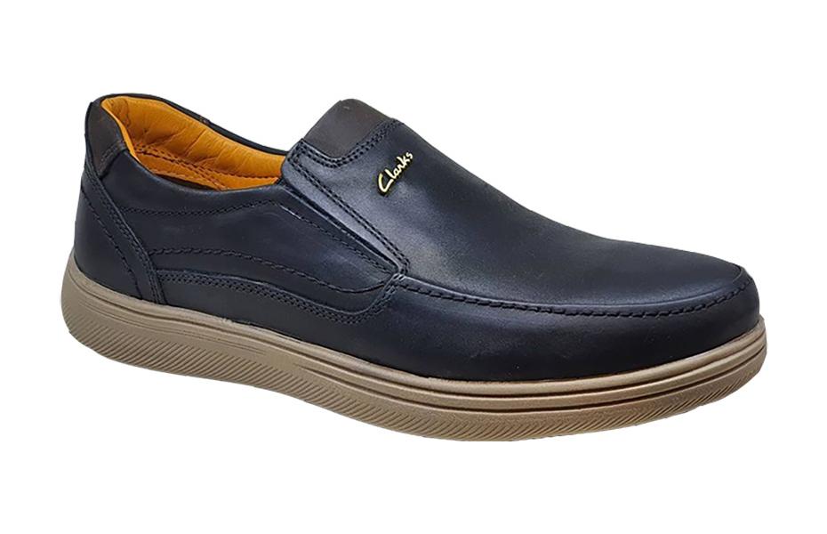 کفش راحتی مردانه چرم  طبیعی تبریز کد 152