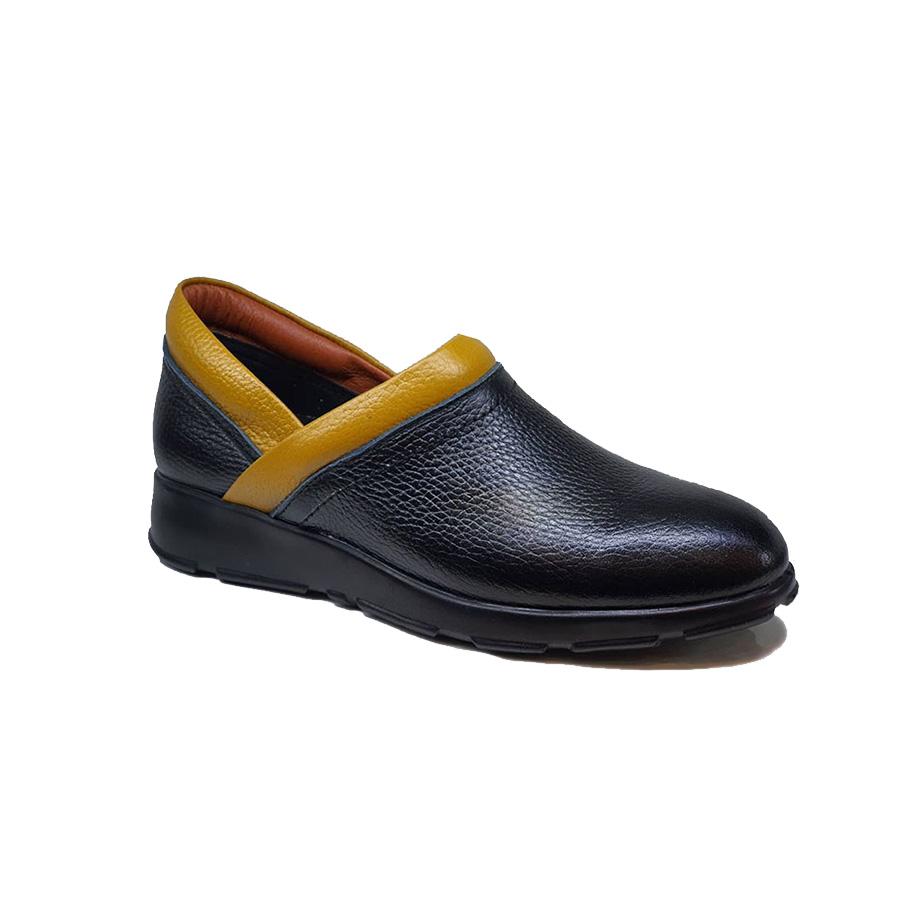 کفش طبی راحتی  زنانه  چرم طبیعی دست دوز تبریز کد 164