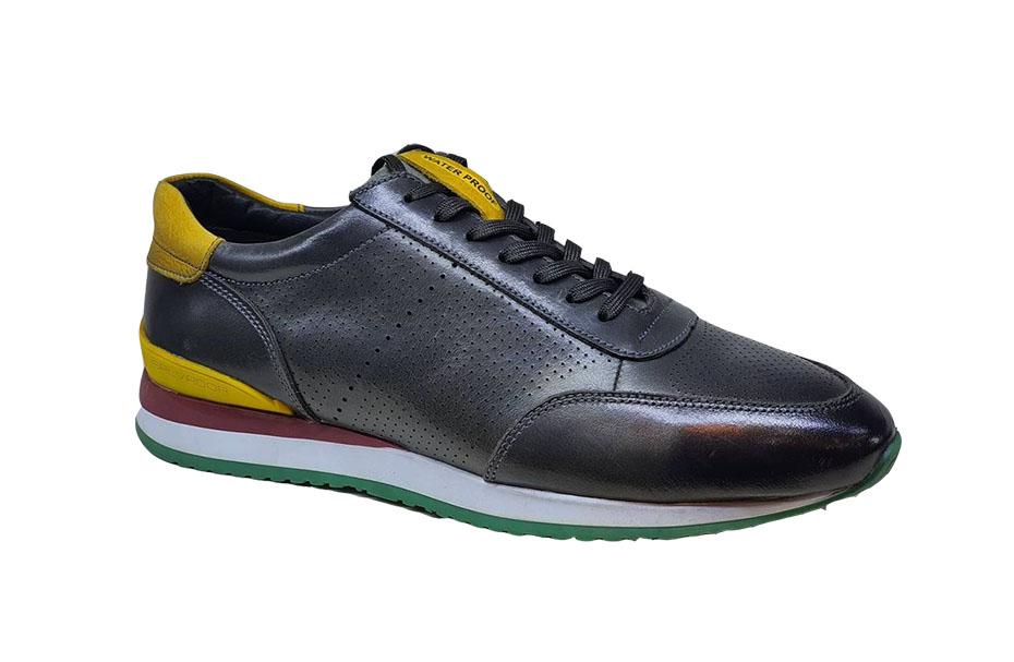 کفش اسپرت مردانه چرم طبیعی  کد 165