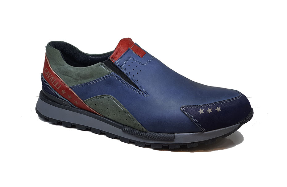کفش اسپرت مردانه چرم طبیعی  کد 208