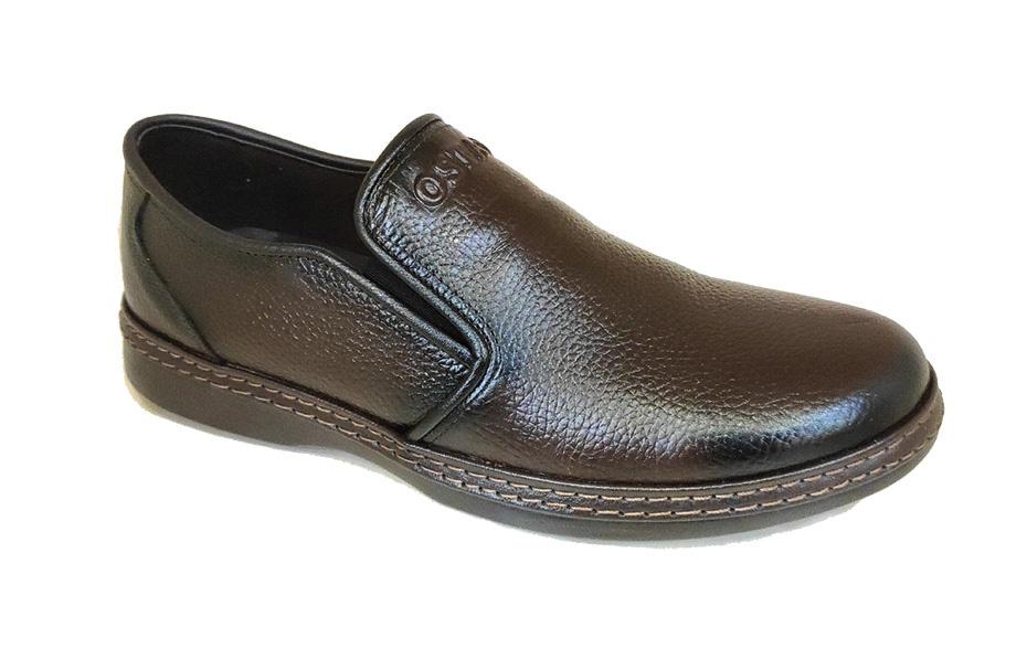 کفش راحتی مردانه چرم طبیعی تبریز کد 217