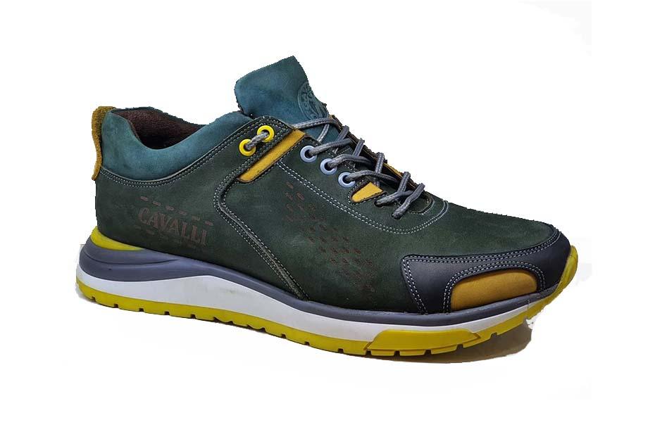 کفش اسپرت مردانه چرم طبیعی  کد 064
