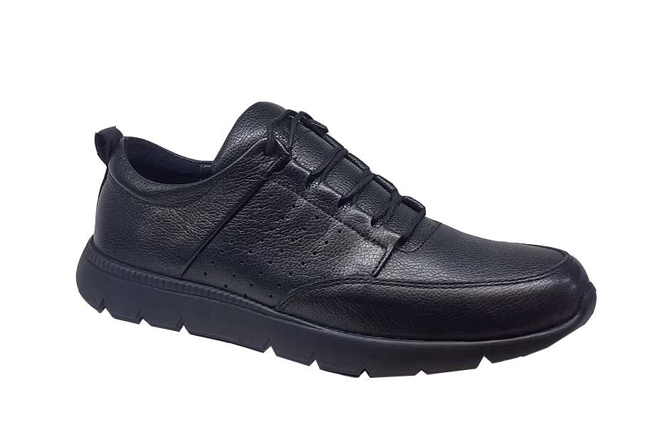 کفش اسپرت مردانه چرم طبیعی  کد 065
