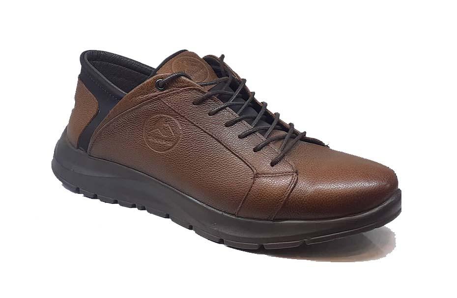 کفش اسپرت مردانه چرم طبیعی  کد 067