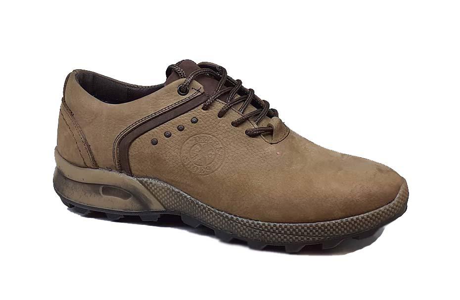 کفش اسپرت مردانه چرم طبیعی  کد 079