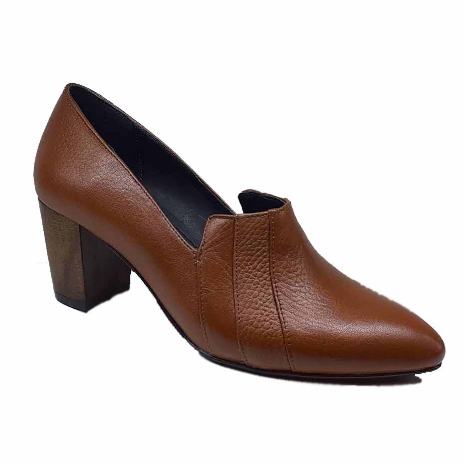 کفش زنانه چرم طبیعی دست دوز تبریز کد 080