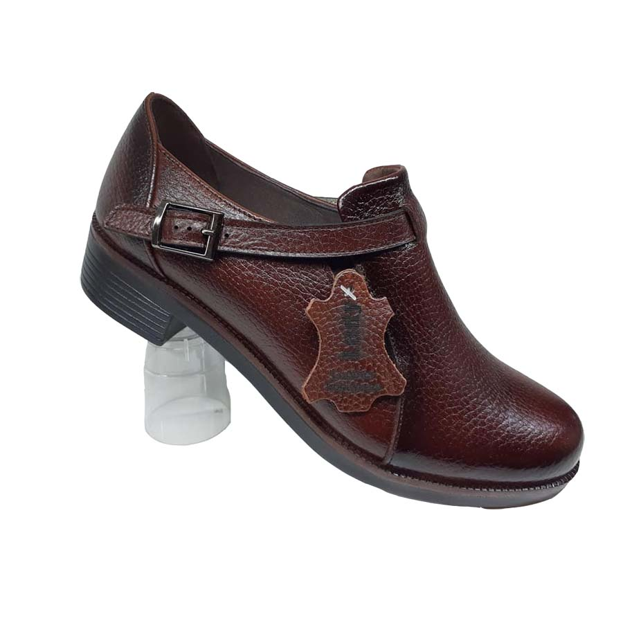 کفش زنانه چرم طبیعی دست دوز تبریز کد 091
