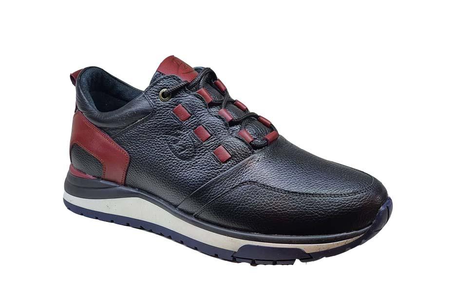 کفش اسپرت مردانه چرم طبیعی  کد 103