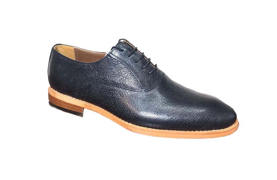 کفش چرم  طبیعی مجلسی مردانه دستدوز  تبریز کد105