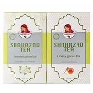 پک چای سبز عسل + یاسمن شهرزاد