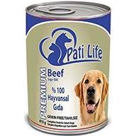 کنسرو غذای کامل سگ بالغ pati life