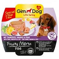 منوی میوه ای سگ های نژاد کوچک Gim Dog