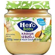 غذای مکمل کودک مخلوط سبزیجات ۱۲۵  گرم