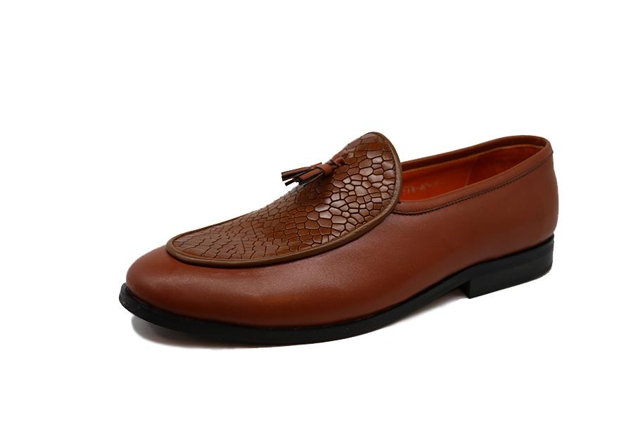 کفش چرم طبیعی مردانه مجلسی مدل Maldini