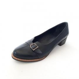 کفش زنانه مجلسی چرم طبیعی دست دوز تبریز کد 208