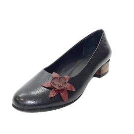 کفش زنانه چرم طبیعی دست دوز تبریز کد 573