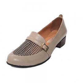 کفش زنانه  چرم طبیعی دست دوز تبریز کد 521