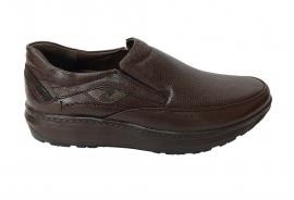 کفش  طبی مردانه تمام  چرم  کد 037