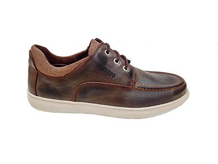 کفش چرم طبیعی مردانه راحتی  مادو 1086