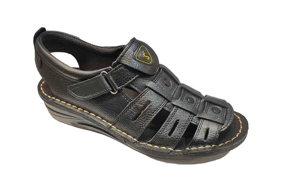 کفش تابستانی  طبی راحتی مردانه چرم طبیعی تبریز کد482
