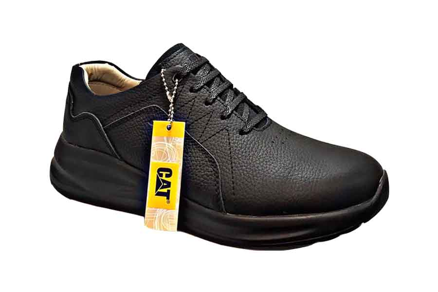 کفش کتونی مردانه چرم طبیعی  تبریز کد508