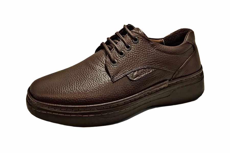 کفش طبی راحتی مردانه چرم طبیعی تبریز کد512