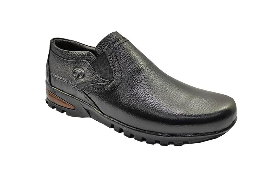 کفش راحتی مردانه چرم  طبیعی تبریز کد 197