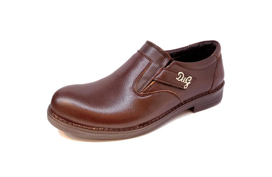 کفش مجلسی مردانه تمام چرم طبیعی گاوی تبریز کد 319