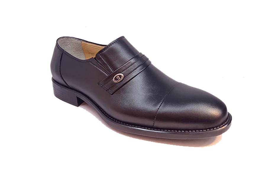 کفش مجلسی مردانه تمام چرم طبیعی گاوی تبریز کد 322