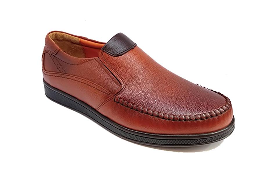 کفش راحتی مردانه تمام چرم طبیعی گاوی تبریز کد 327