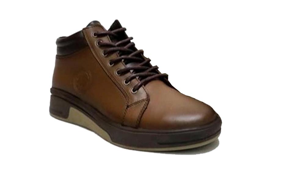 کفش کتونی مردانه تمام چرم طبیعی  تبریز کد 340
